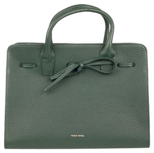 Mansur Gavriel Satchel in Moss Green
