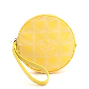 Chanel Wristlet in Yellow