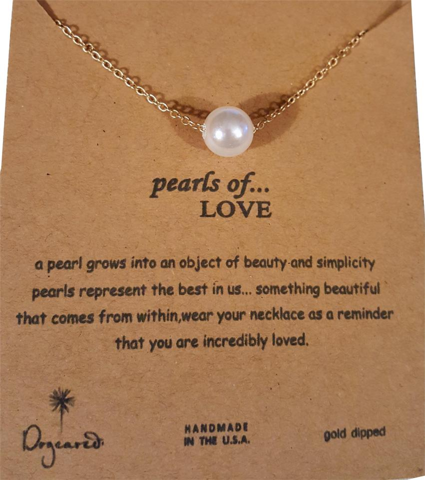 434ff62c7 Dogeared Pearls Of Love Necklace - Tradesy
