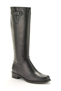 Blondo Leather Tall Riding Black Boots