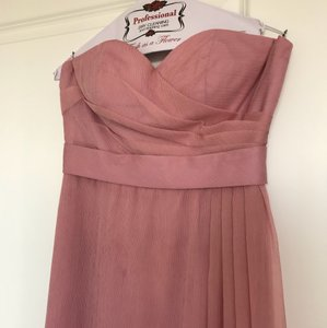 Love Lane Bloom Chiffon Bella Traditional Bridesmaid/Mob Dress Size 4 (S)