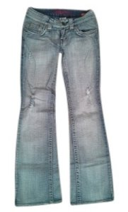 Hydraulic Boot Cut Jeans-Light Wash