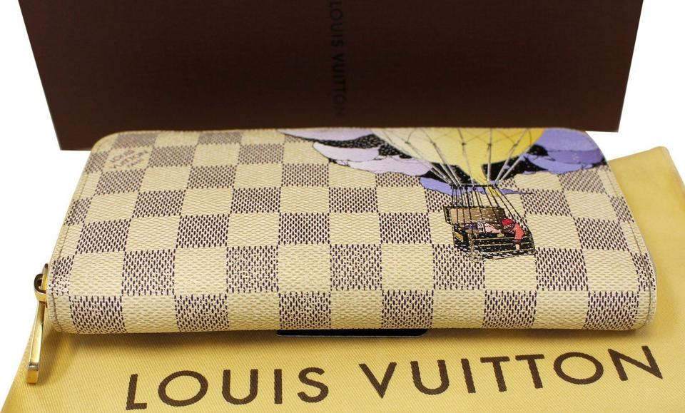 a18b94c92f68 Louis Vuitton LOUIS VUITTON Damier Azur Canvas Illustre Zippy Wallet  Limited Image 11. 123456789101112