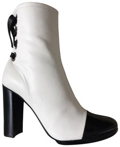 Proenza Schouler Black&white Leather White/Black Boots