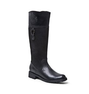 Blondo Suede Leather Riding Black Boots