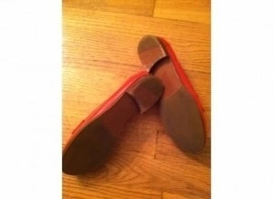 Tory Burch Leather Pennie Loafer 6.5 Style No Red Flats