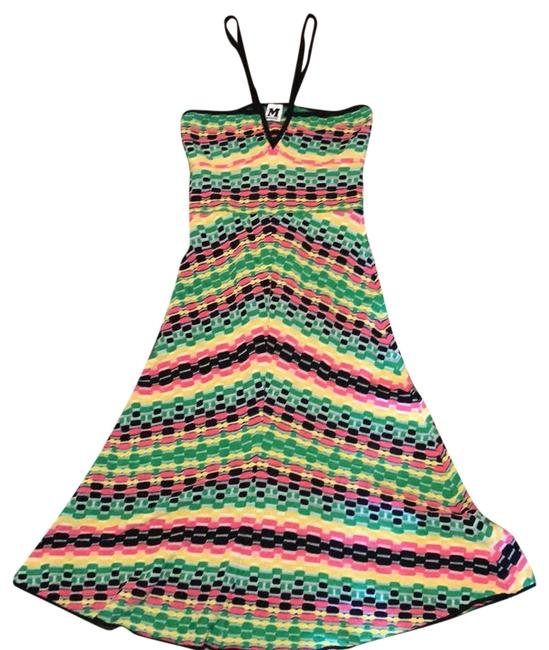 Item - Multicolor Id3kd00l1fu Mid-length Night Out Dress Size 8 (M)