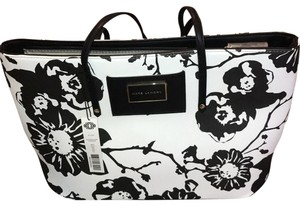 Kate Landry Tote in Black and White