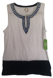C. Wonder Top blue Royal Navy white