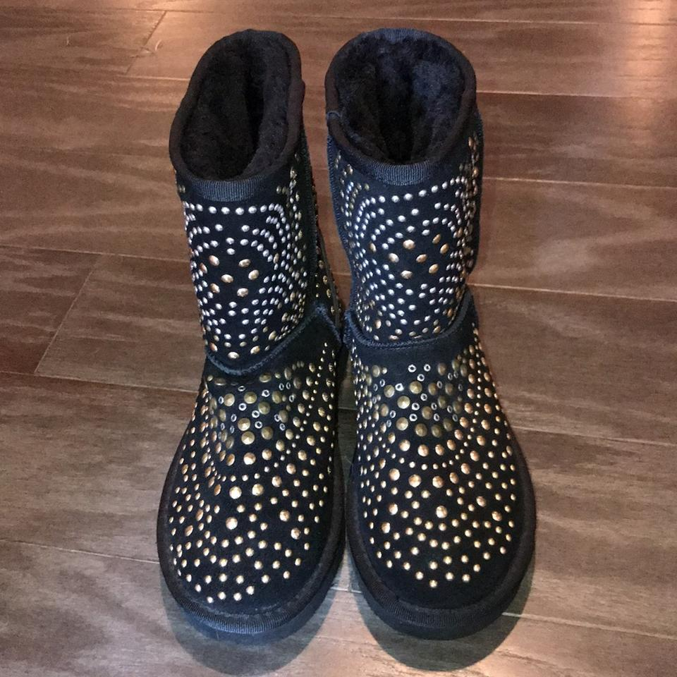 Jimmy By Ugg Booties Boots Black Choo rnp8Yqwpf7