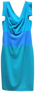 Black Halo short dress Blue and teal on Tradesy