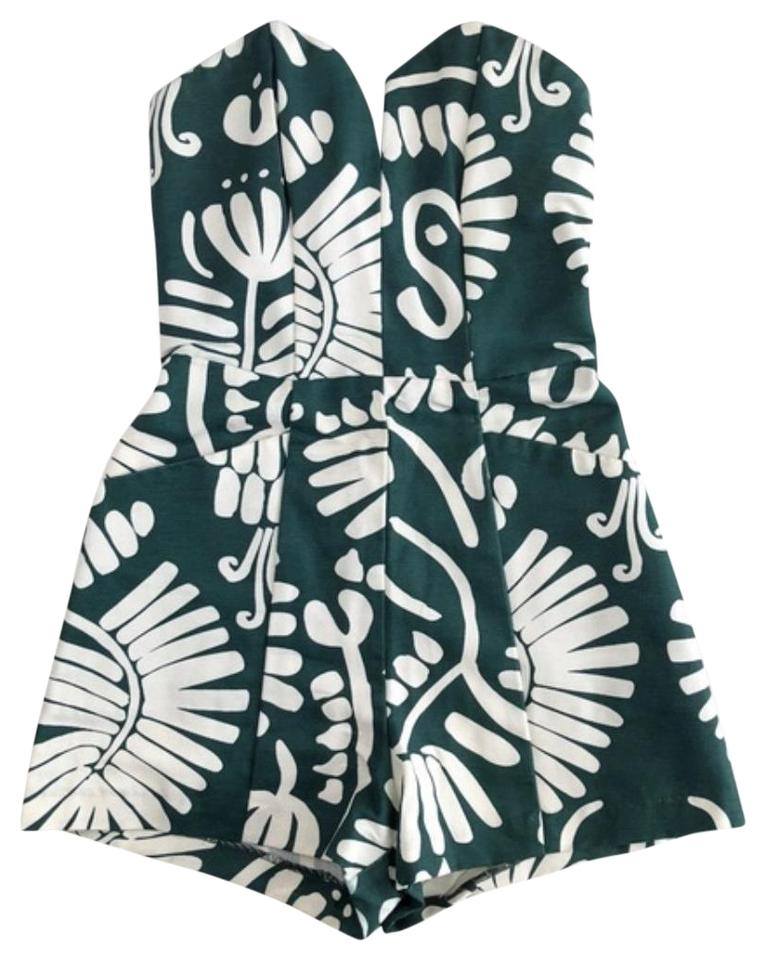 243c3838db6 H M Tropical Palm Sweetheart Strapless Dress Image 0 ...