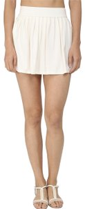 Kate Spade NWT KATE SPADE GEORGICA BEACH SWIM SKIRT COVER UP MINI SKIRT CREAM M