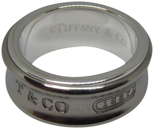 Preload https://img-static.tradesy.com/item/23398980/tiffany-and-co-silver-and-grey-titanium-1837-size-5-ring-0-1-540-540.jpg