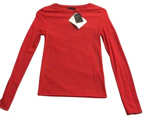 stradivarius Top Red