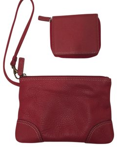 Levenger Wristlet in Red