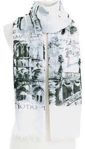 Gilt for Neium Marcus ARC DE TRIUMPH Building Scarf