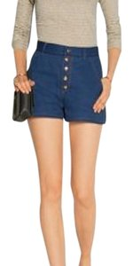 Rag & Bone Mini/Short Shorts indigo