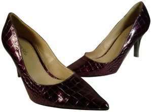 Cabrizi Heel Animal Print Stiletto PURPLE Pumps