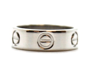 Cartier RARE Pt 950 Platinum Love band ring size 48 5.5mm wide