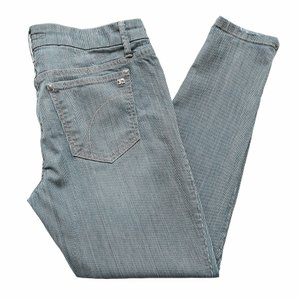 JOE'S Jeans Ankle Zippered Blue Skinny Jeans-Distressed
