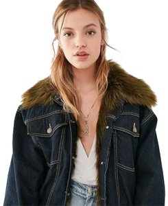 ad1793dcd6 Blue Urban Outfitters Outerwear - Up to 70% off a Tradesy