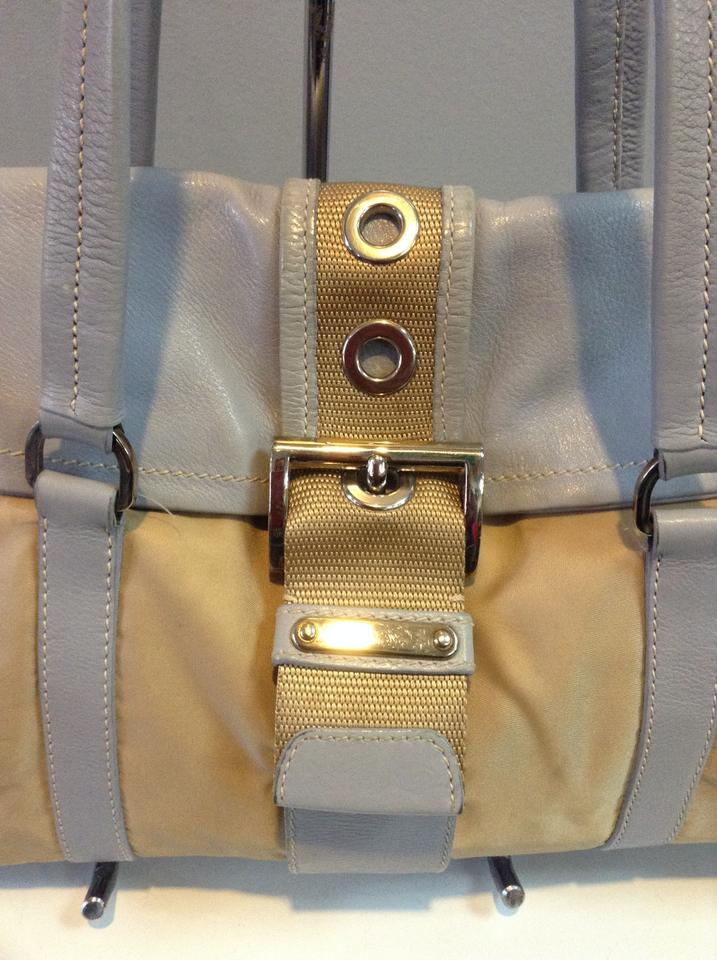 08a9aca70a77 Prada Flap Over Desert Leather/Nylon Shoulder Bag - Tradesy