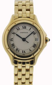 Cartier Cartier Ladies Cougar 18k Yellow Gold Watch