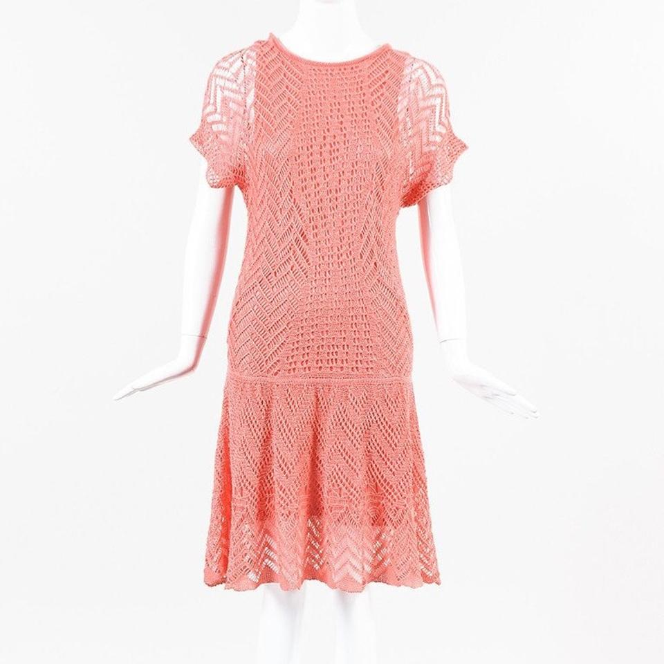 Thakoon Addition Short Dress C Pink On Tradesy