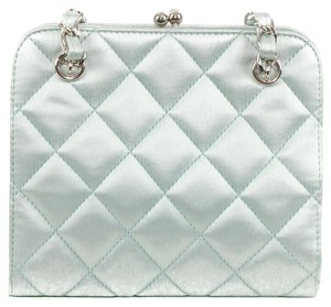 Chanel Satin Quilted Shoulder Bag