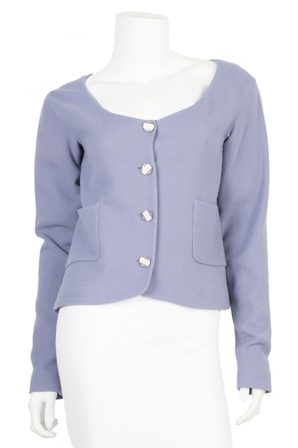 Item - Lavender Purple Wool Copped 40 Jacket Size 10 (M)