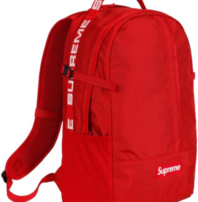 Item - Size Red Nylon Backpack
