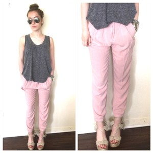 Hot & Delicious Athletic Pants Pale pink