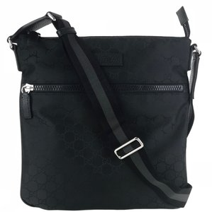 c63e2ffcca2d Gucci Bags Cross Body Shoulder Bags Black Messenger Bag