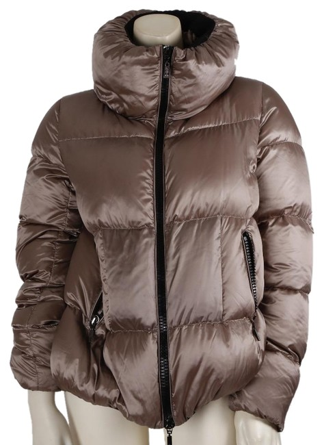 Item - Gray Down Feather Puffer Jacket Size 4 (S)