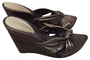 Jessica Simpson Bronze Wedges