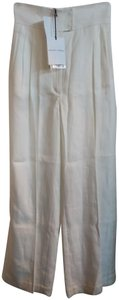 Barbara Casasola Wide Leg Pants White
