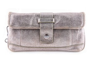Michael Kors Wristlet in * Metallic Silver/Gold