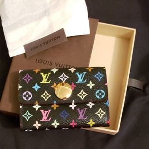 Louis vuitton business card holders up to 70 off at tradesy louis vuitton louis vuitton multicolor business card holder black grenade colourmoves