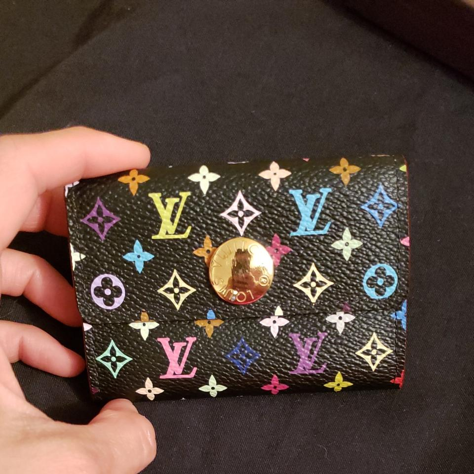 400dfd99a834 Louis Vuitton LOUIS VUITTON Multicolor Business Card Holder Black Grenade  Image 11. 123456789101112