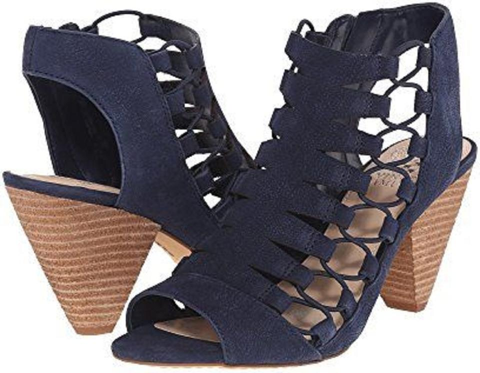Vince Camuto Midnight Blue Eliaz Gladiator Dress Sandals