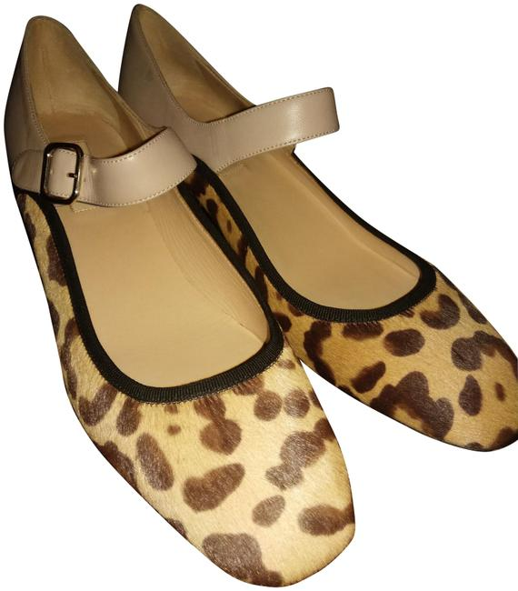 Item - Beige Blush Brown New Made In Italy Ponihair Leather Pumps Size EU 39 (Approx. US 9) Regular (M, B)