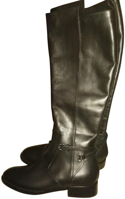 Item - Black New Made In Italy Tall Riding Boots/Booties Size EU 38 (Approx. US 8) Regular (M, B)