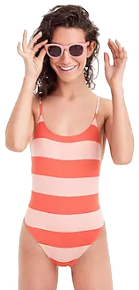 f27e55a0dd9b4 J.Crew Playa printed Newport Super-scoopback One-piece Swimsuit Image 0 ...