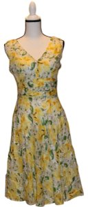 Robbie Bee short dress Yellow Summer Spring on Tradesy