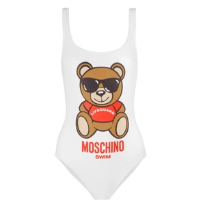 Moschino teddy bear printed swimsuit bodysuit