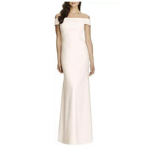 Off Shoulder Crepe Gown Feminine Bridesmaid/Mob Dress Size 10 (M)