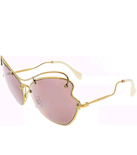Miu Miu MIU MIU Women's Oversized SCENIQUE COLLECTION sunglasses Image 3