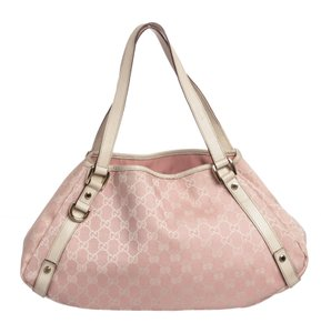 Gucci Tote in Pink and White