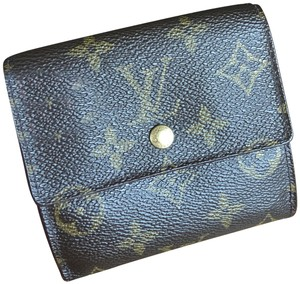 Louis Vuitton Louis vuttion Porte monniaie Billets Carte Credit card wallet monogram